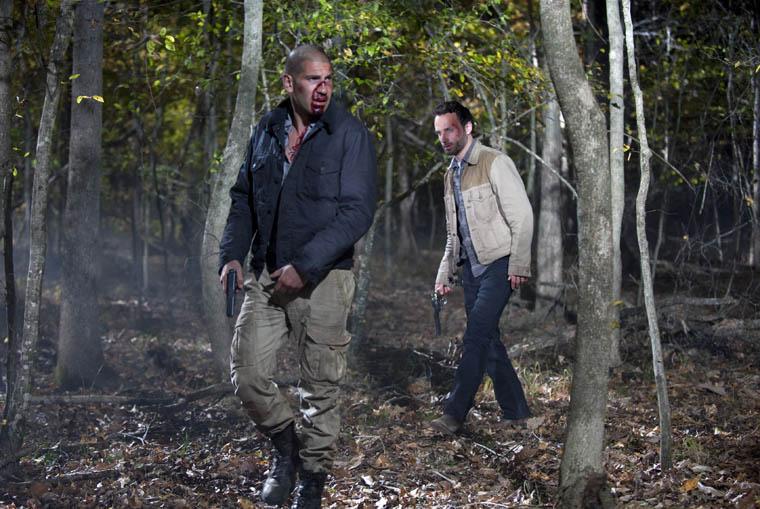 Rick mata a Shane