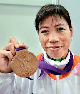 Indian Boxer M. C. Mary Kom