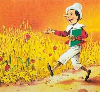 Cerita Pinokio dalam Bahasa Inggris