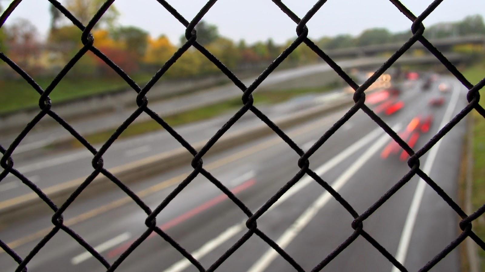 Fenced Highway