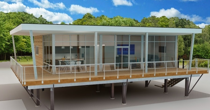 Affordable modern prefab homes for Inexpensive modern homes