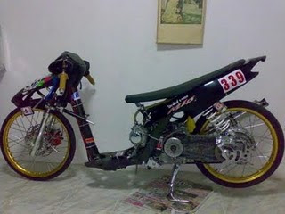 Modifikasi+Motor+Drag+Race+02 Kumpulan Gambar Modifikasi Mio Matic Drag