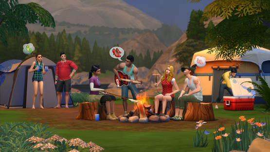 The Sims 4 Update DLC Holiday Celebration And Outdoor Retreat - Mod