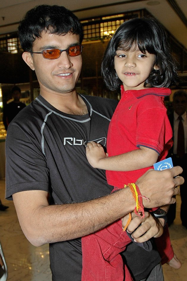 Saurav Ganguly's daughter
