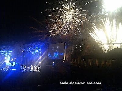 Tiger Asian Music Festival 2012 fireworks LMF with Manhand