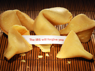 Fortune Cookie IRS will forgive you