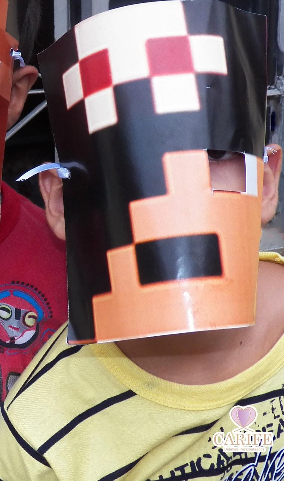 festa Infantil do Minecraft em casa ~ Carife- lembranças ...