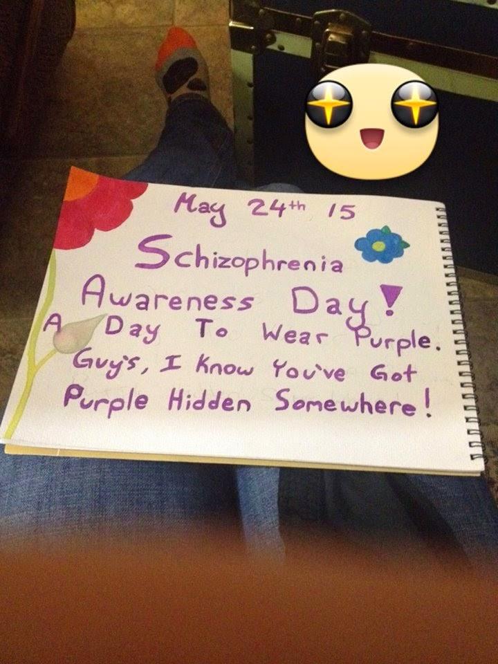 Schizophrenia Awareness Day May 24