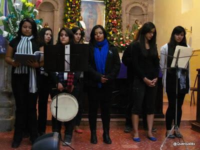 Concierto navideño en la parroquía - Dic 2012