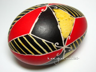 Easter pysanka