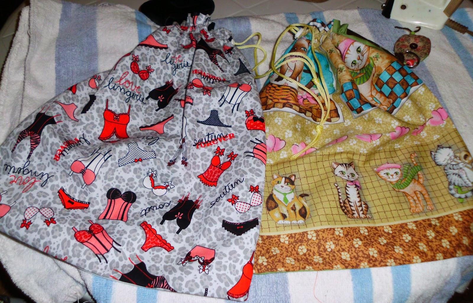 abuela creativa bolsitas para la ropa interior