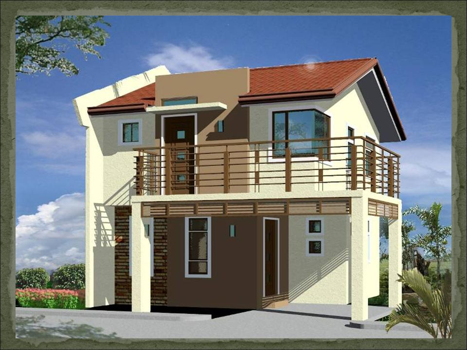 Onix dream home design of lb lapuz architects builders for Balcony designs philippines