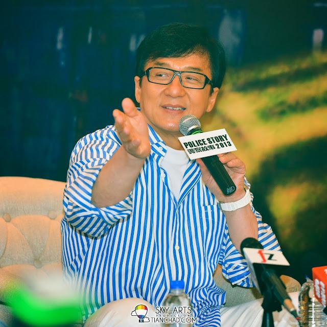 Jackie Chan in Malaysia for Police Story 2013 成龙警察故事2013马来西亚电影宣传