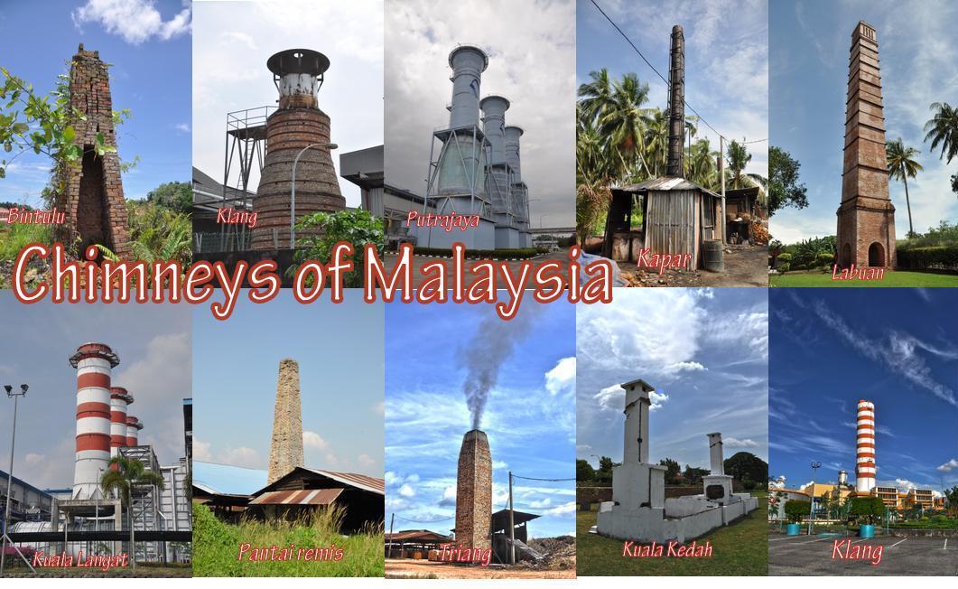 Chimneys of Malaysia