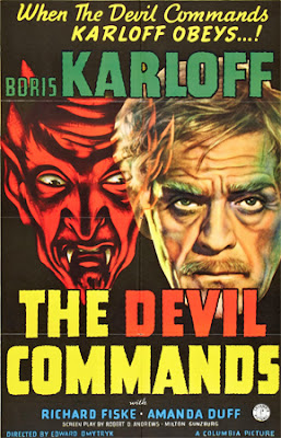 The Devil Commands (1941) - Poster