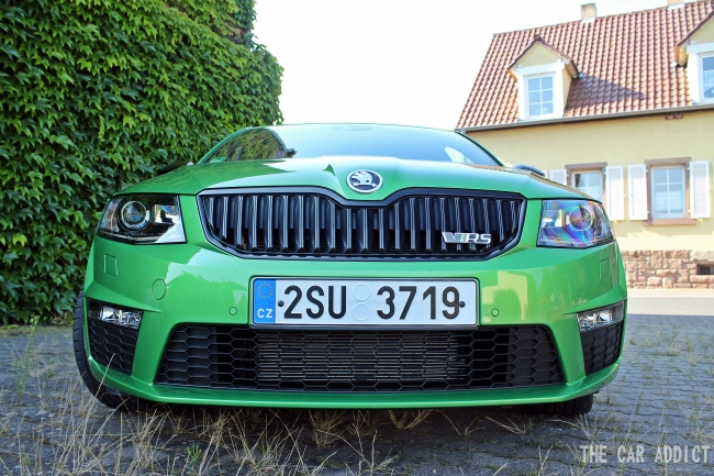 Skoda Octiva RS Front Grille