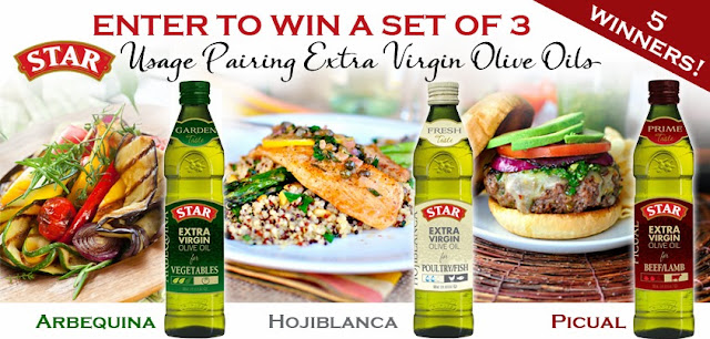 #shop #cbias Star Olive Oil Giveaway