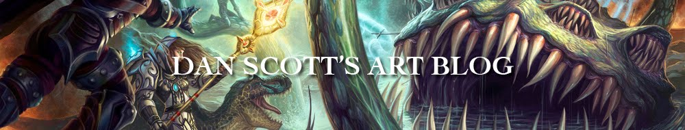 DAN SCOTT'S ART BLOG
