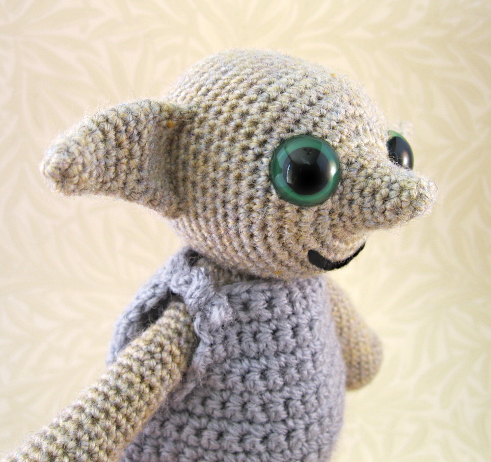 Crochet Patterns Harry Potter : used a pattern that I had worked out when I made this Grey Hobgoblin ...