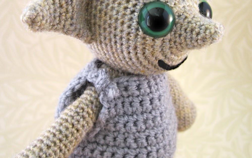Lucyravenscar Crochet Creatures Dobby The House Elf