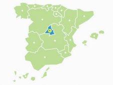 Mapa de Pistas de Pádel Madrid Capital