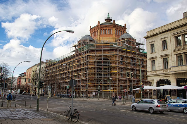 Baustelle Postfuhramt, ehem. C/O Berlin, Oranienburger Straße / Tucholskystraße, 10117 Berlin, 06.02.2014