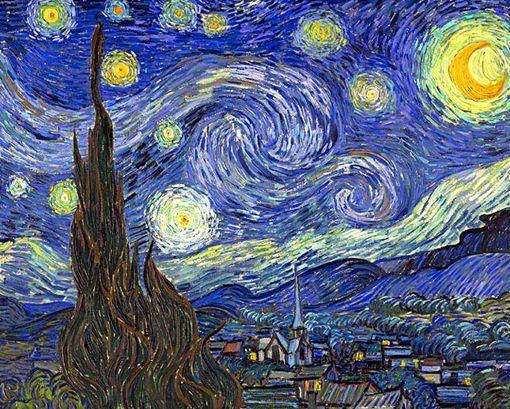 """""""Noche estrellada"""" de Van Gogh"""