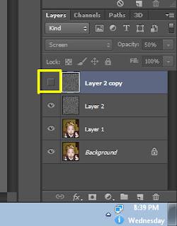 Membuat Efek Kanvas Pada Foto