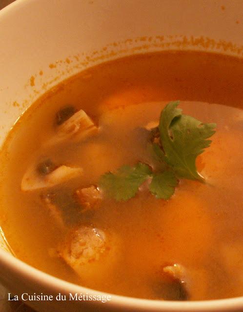 soupe Tom Yam Khung