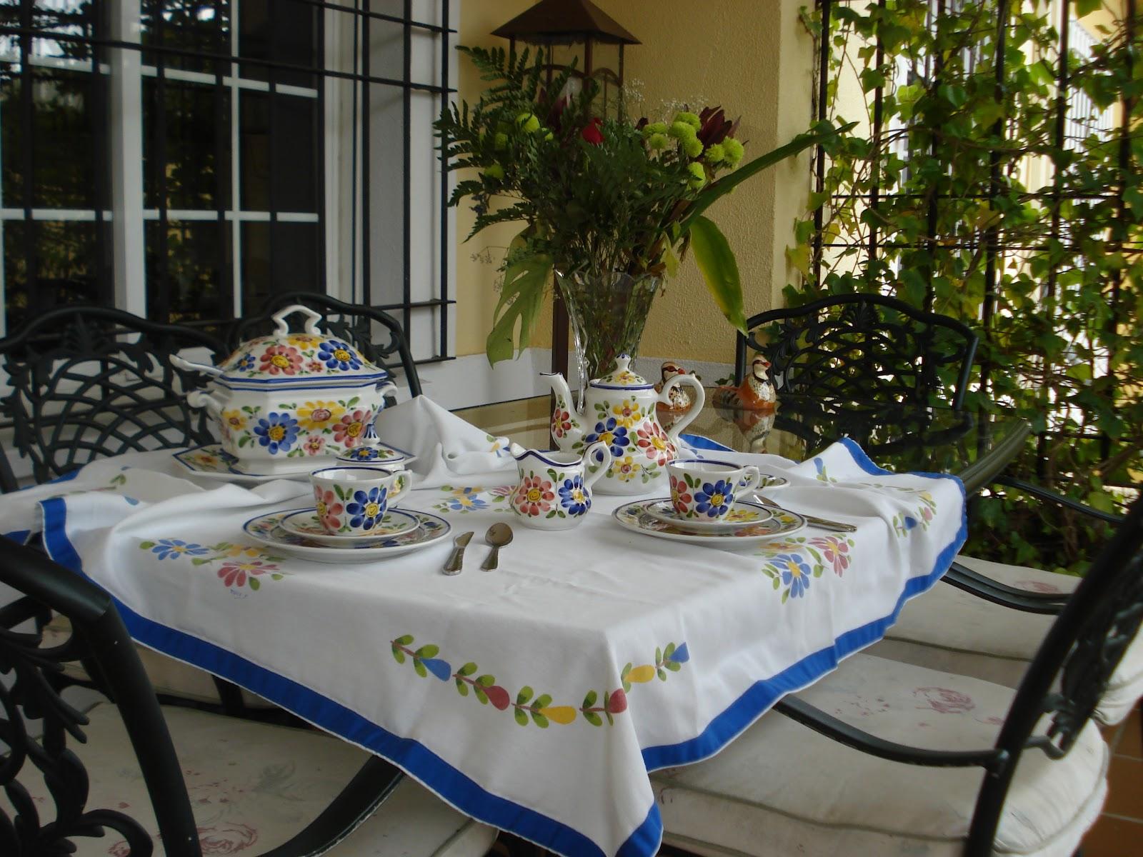 Las casas de pura el placer de invitar a casa - Vajillas portuguesas ...