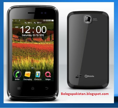 Q Mobile Price in Pakistan Touch Screen