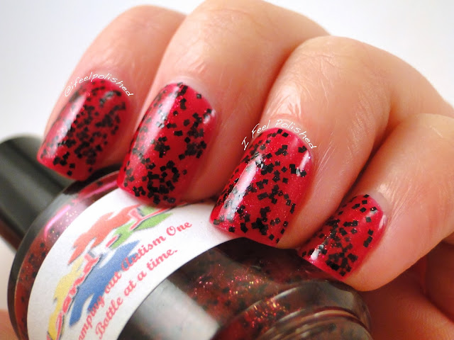 Land-Lia Polish Watermelon Hearts