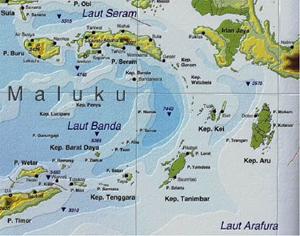 Maluku Masuk Kategori Ring Of Fire Dhara Pos