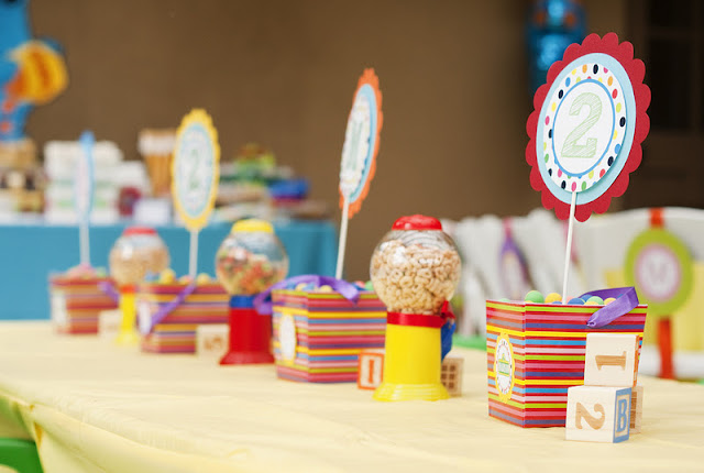 Kara's Party Ideas Sesame Street 2nd Birthday Party | Kara's Party Ideas