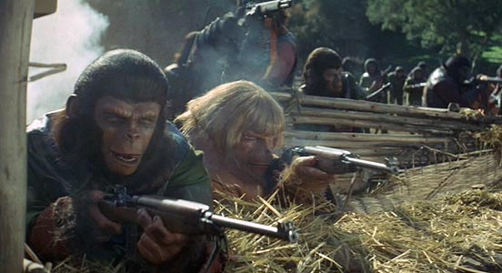 a comparison of setting in the book and in the movie planet of the apes Review of planet of the apes essay - review of planet of the apes of the movie compared to the setting in the book makes a comparison of the.