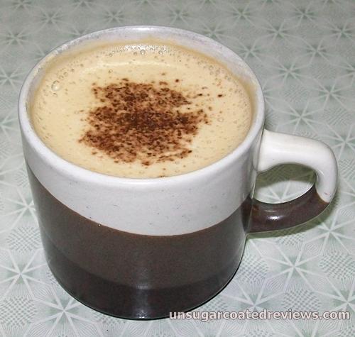 Kopiko Kopiccino cappuccino instant coffee with granules