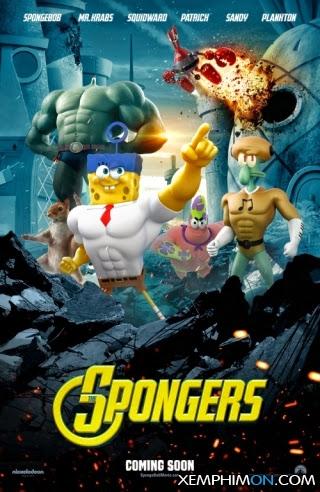 SpongeBob: Người Hùng Lên Cạn Full HD Vietsub