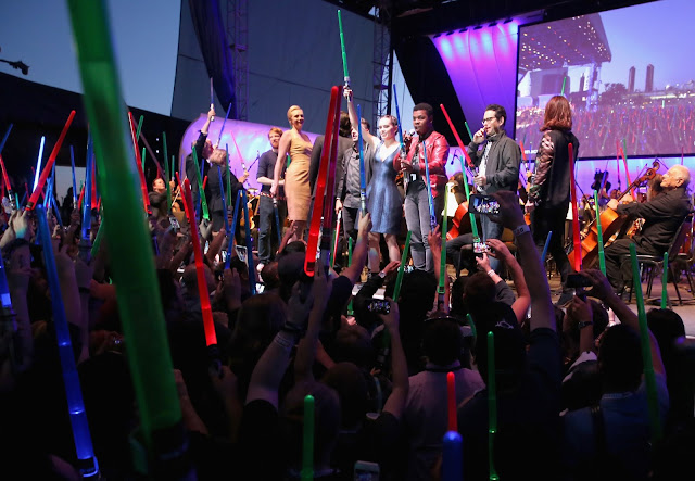 The Force Awaken at San Diego Comic Con 2015