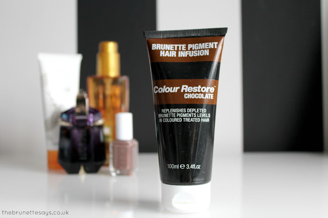 scott cornwall, colour restore chocolate, brunette, hair colour, hair care
