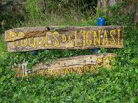 Inici de la zona d'escalada de les Roques de l'Ignasi