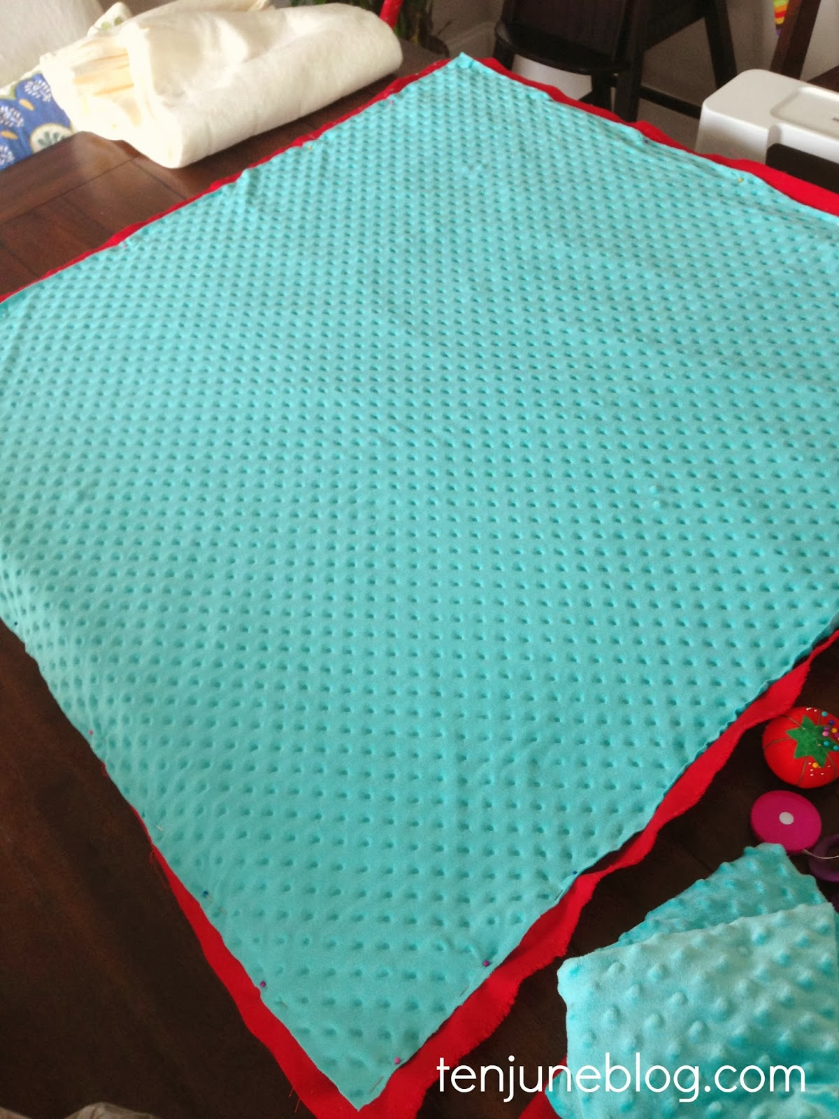 Ten June DIY Baby Play Mat Sewing Tutorial