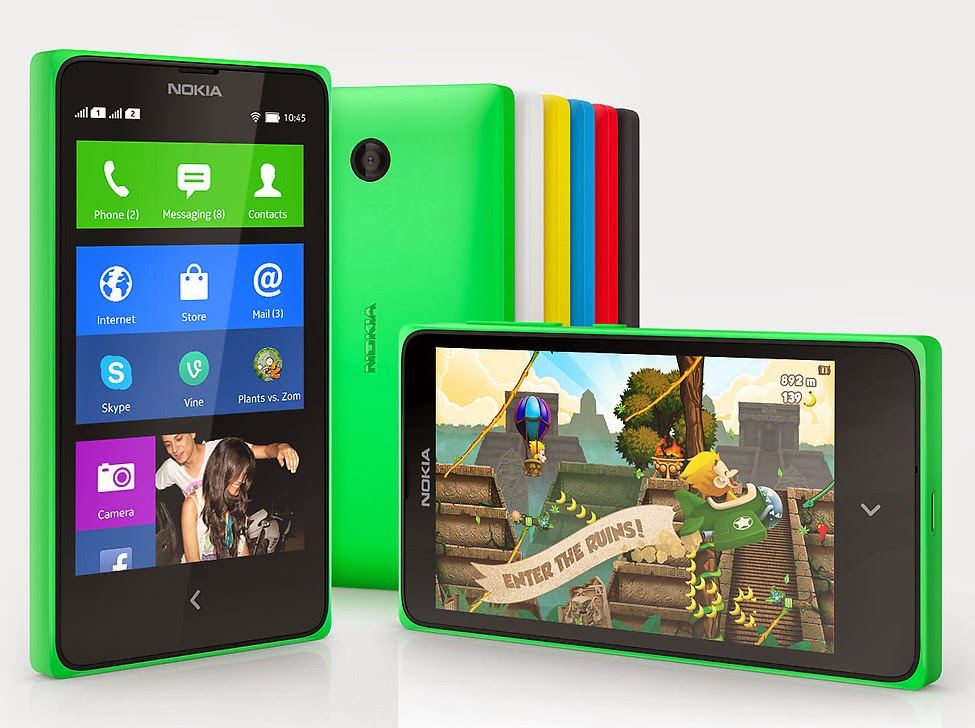Nokia X Android Phone