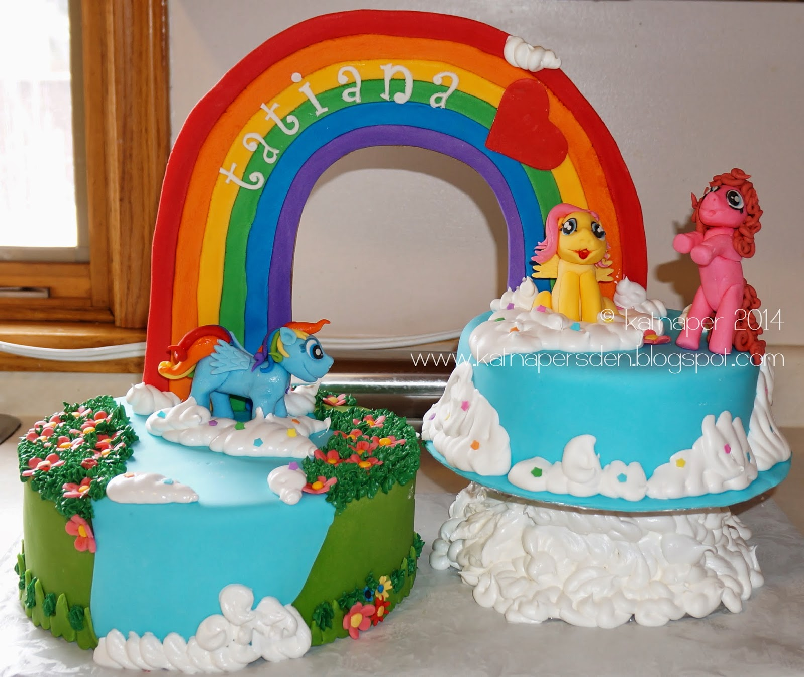 Katnaper S Den My Little Pony Cake
