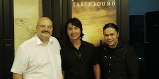 Vitaly Glinkin (Director Russian Culture  Center), Robin Shou,  dan Damien Dematra