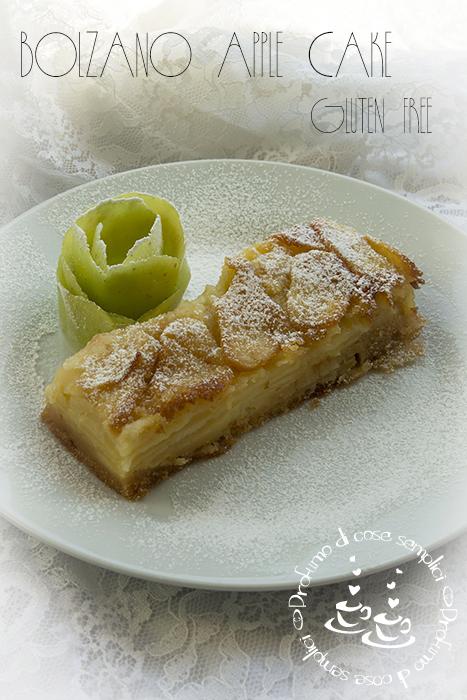 bolzano apple cake, gluten free