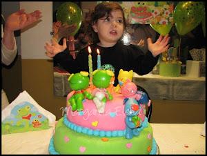 Torta 2 años de Uma