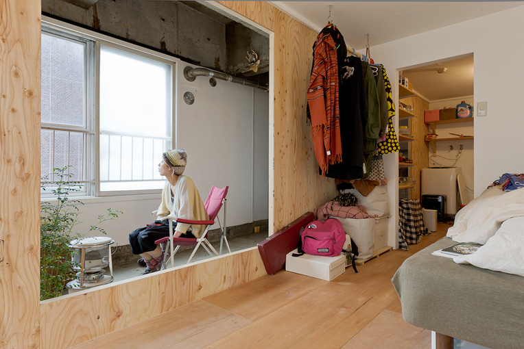 Imagine these apartment interior design sapporo for Apartment japan design