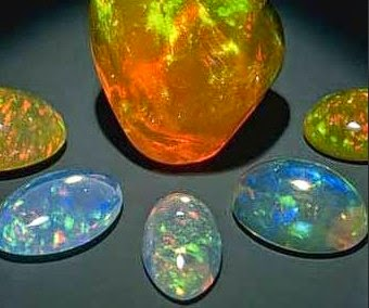 macam dan jenis batu akik kalimaya opal