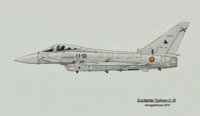Los dibujos de Armagedoncan Armagedoncan+Eurofighter+Typhoon