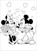 La Casa de Mickey Mouse para colorear